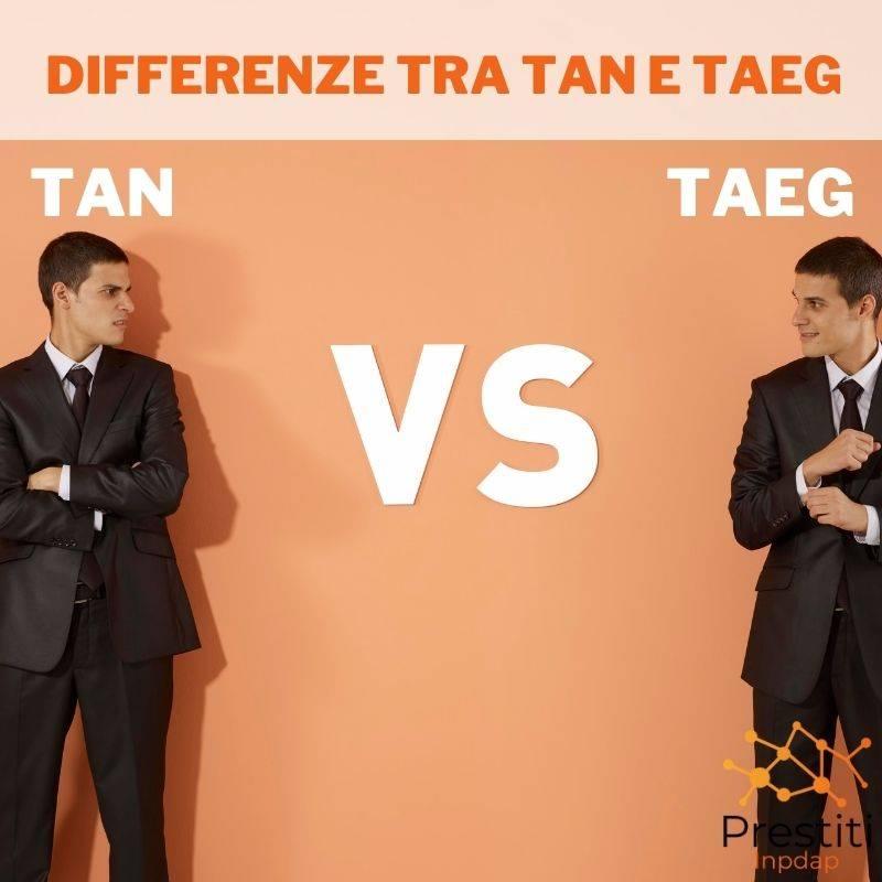 DIFFERENZE TRA TAN E TAEG